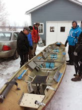 Photo: Soo our boat from last year was crap. We we busted out the old boat which was in way better shape. The boat guy gutted it and did quite an amazing job refurbishing it.