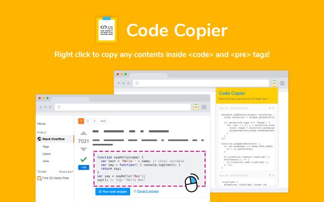 Code Copier