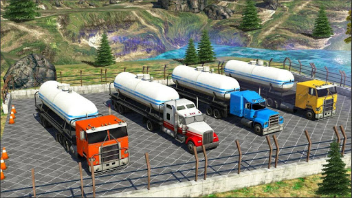 Oil Tanker Truck Simulator : Offroad Missions 2.3 screenshots 8
