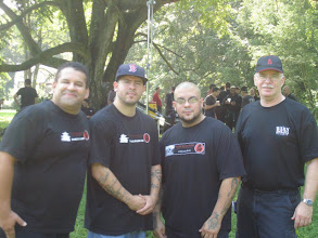 Photo: BBD with Barry from the Firehouse Dojo