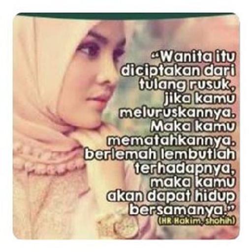 710+ Gambar Kata Bijak Islami Tentang Wanita HD