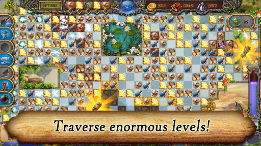 Runefall - Medieval Match 3 Adventure Quest android2mod screenshots 14