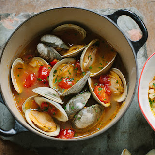 Clams In Crazy Water