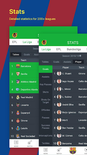 All Football - Barcelona News & Live Scores 3.1.6 BL Screenshots 5