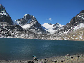 Photo: Aklimatisierungstour  in der Condoririgruppe