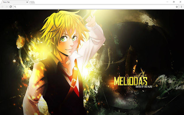 Meliodas Images & New Tab