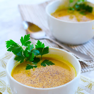 Roasted Butternut Squash Soup with Bone Broth