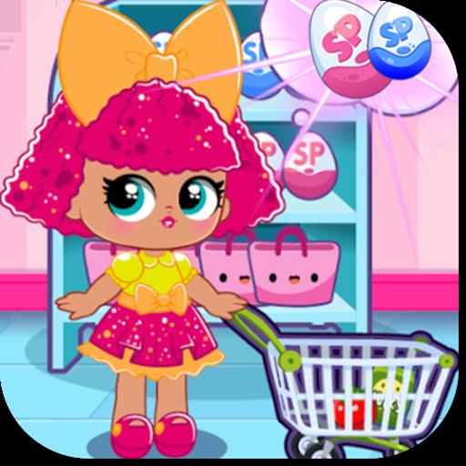 Surprise Game Dolls - Shopping Supermarket