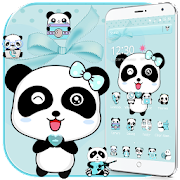 Blue Love Panda Theme