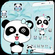 Download App Blue Love Panda Theme