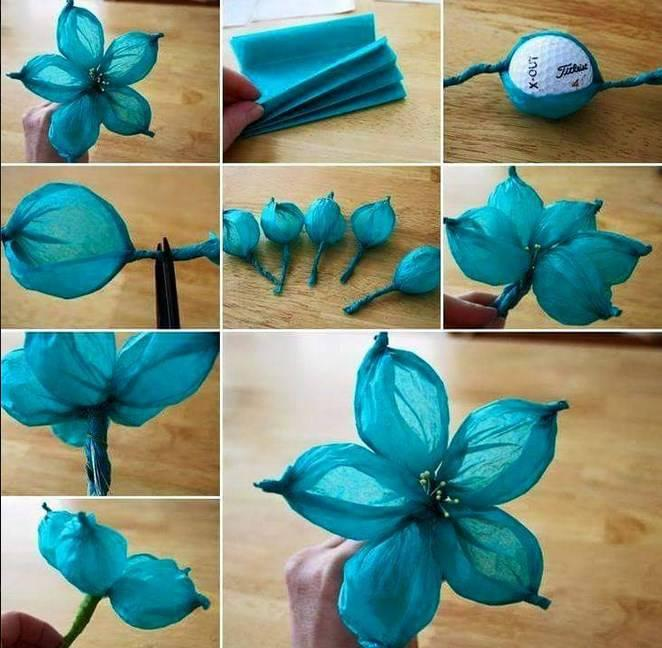Diy Flower Craft Ideas Screenshot