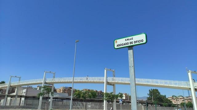 La nueva calle tiene la denominación de Abogado de Oficio