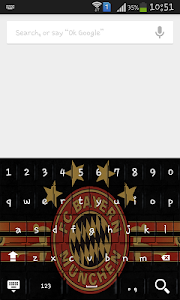 Football logo club Keyboard screenshot 2