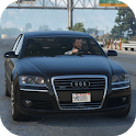 2019 Audi A8 W12 - Extreme Car Simulator icon