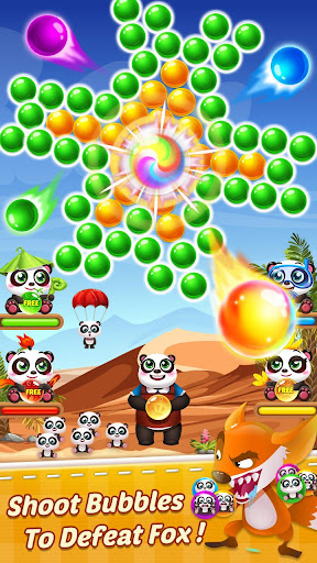 Bubble Shooter 3 Panda modavailable screenshots 3