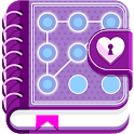Journal With Lock - Secret Diary icon