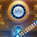 Elegant Egypt Clock Live Wallpaper icon