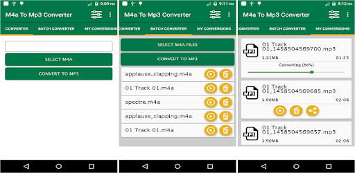 M4a To Mp3 Converter - Apps on Google Play