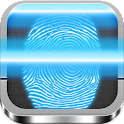 Fingerprint scan country prank icon