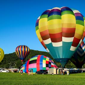Balloon Festival 2017 by Dave Dabour - Transportation Other ( hot air, 2017, balloons, festival, new jersey, warren county, summer,  )