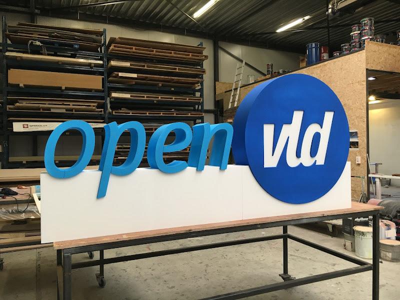 3D letters & logo's uit EPS en XPS - 3D logo Open VLD