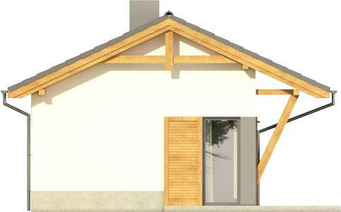 Domek 5 - Elewacja lewa