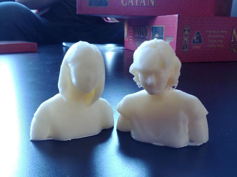 Photo: Makerbot Christina and Erin!