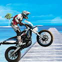 Racing Bike Stunt catcher: Tricky bike challenge icon