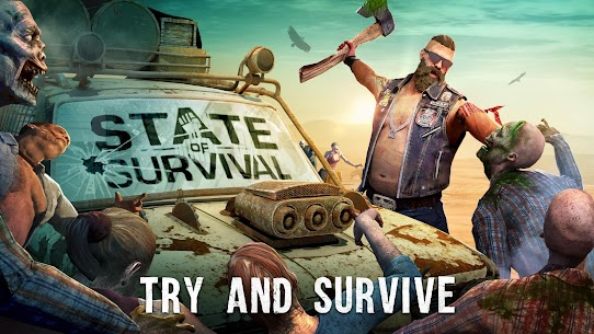STATE OF SURVIVAL MOD APK SURVIVE THE ZOMBIE APOCALYPSE DOWNLOAD FREE 4