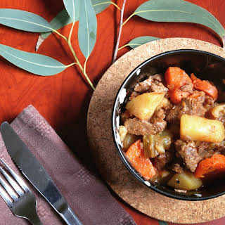 Beef Casserole with Australian Native Herbs.