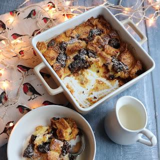 Brioche & Christmas Pudding Bread & Butter Pudding.