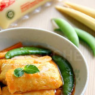 Braised Tofu [Boys New Favourite]