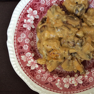 Creamy Smoked Gouda Chicken and Mushrooms