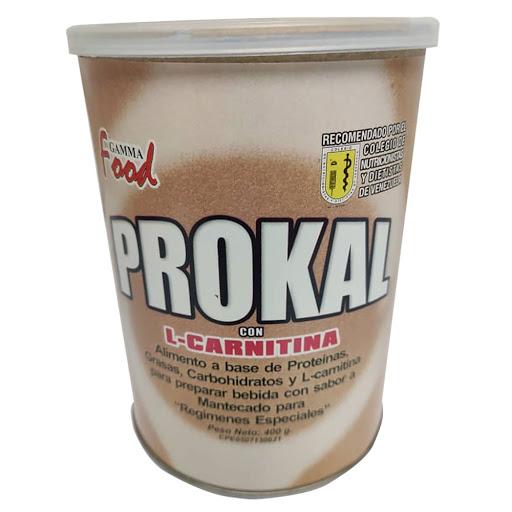 Suplemento Nutricional Prokal L- Carnitina Mant 400G Gama Food