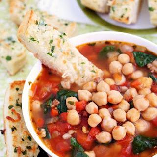 Italian Chickpea Soup Recipes