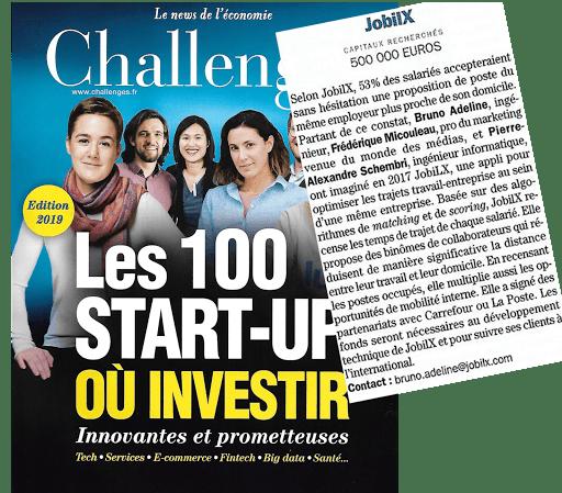 les 100 start-up
