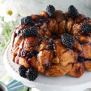 Blackberry Monkey Bread.