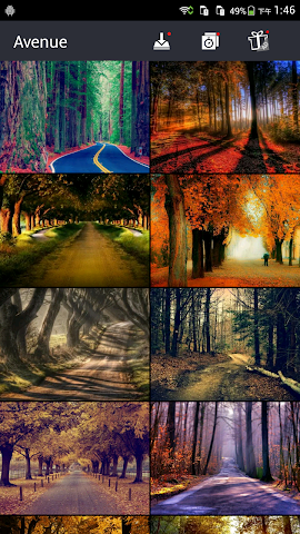 android Avenue Wallpapers Screenshot 3