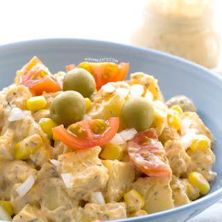 Potato Salad with Vegan Ranch Dressing