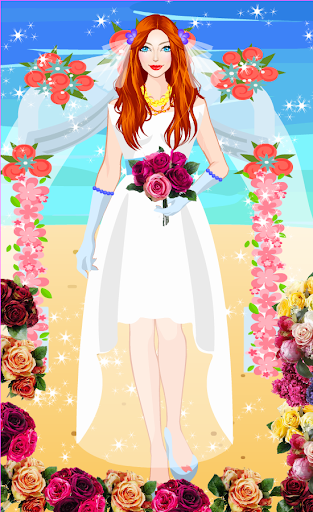 Summer Wedding Dress up android2mod screenshots 1