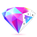 No.Poly - Poly Art Coloring Book Color Puzzle Game icon