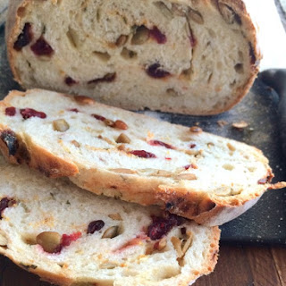 Thyme Orange Cranberry Pumpkin Seed Artisan Bread Recipe