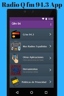 Radio Q fm 94.3 App - náhled
