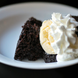 Triple Chocolate Crock Pot Cake.