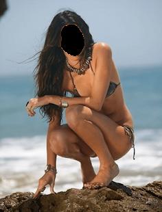 Photo editor bikini frames - náhled