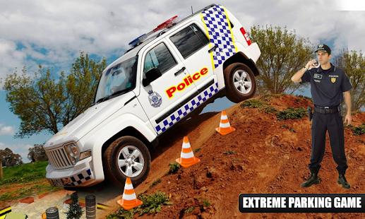 Police Car Parking Mania 3D Simulation - náhled