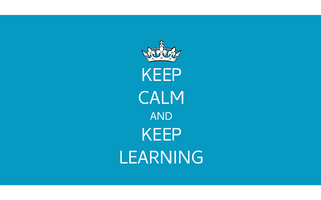 Awesome New Tab - Keep Calm and Keep Learning