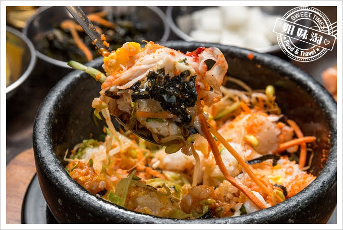 槿韓食堂明太子蟹肉飯