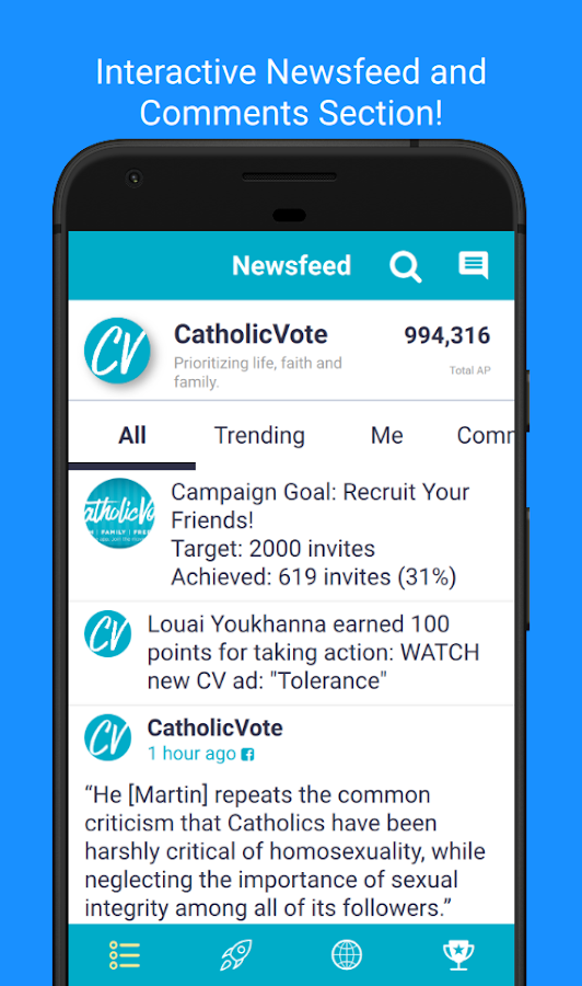 CatholicVote- screenshot