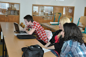 Photo: Školní kolo Středoškolské odborné činnosti - středa 7. březen 2012.